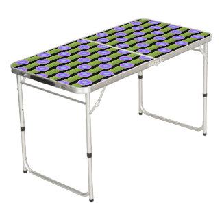Table Beerpong Avant-garde de minimalisme - customisez vos