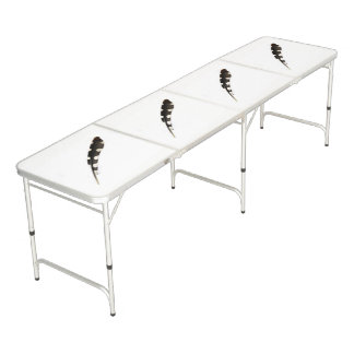 Table Beerpong Grand Tableau de ping-pong repéré de plume de