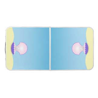 Table Beerpong Le coquillage
