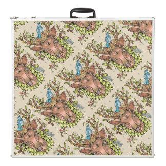 Table Beerpong Nid d'oiseau d'andouillers de cerfs communs