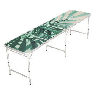 Table Beerpong Paume tropicale