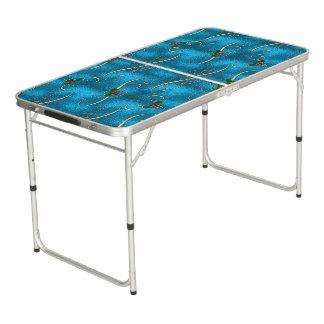 Table Beerpong Remous modernes et élégants de Noël