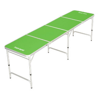 Table Beerpong Table de ping-pong pliable verte personnalisable,