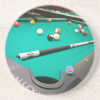 Table de billard dessous de verre