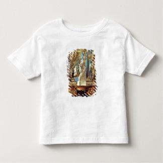 Table d'écriture et statue de Louis XV T-shirt Pour Les Tous Petits