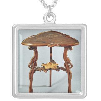 Table latérale de Nenuphar, c.1900 Pendentif Carré