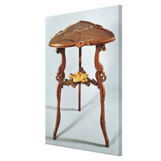 Table latérale de Nenuphar, c.1900 Toiles