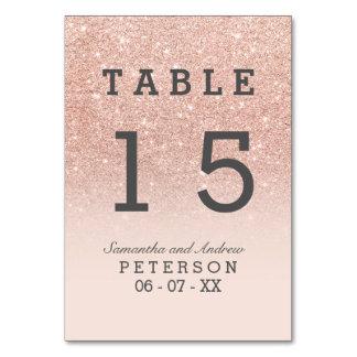 Table rose de mariage d'ombre de rose de
