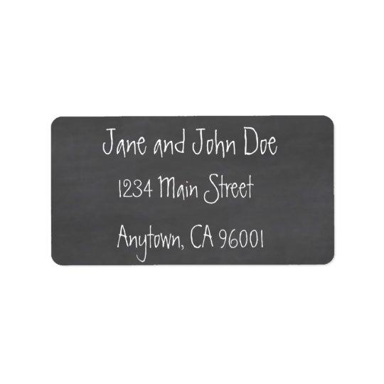 Tableau CustomizeABLEs Étiquette D'adresse