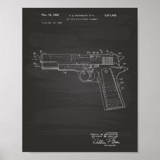 Tableau d'art de brevet de l'espace libre 1968 posters
