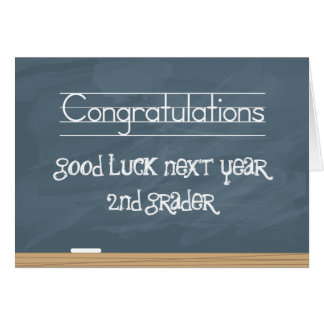 Tableau de bonne chance l'année prochaine avec des carte de vœux