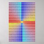 Tableau de multiplication en spirale - carré (adap affiches