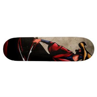 Tableau de patinage JIVARO SAMOURAÏ Plateaux De Planche À Roulettes
