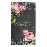 Tableau de PixDezines+roses vintages Carte De Visite