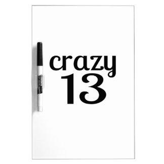 Tableau Effaçable À Sec 13 conceptions folles d'anniversaire