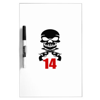 Tableau Effaçable À Sec 14 conceptions d'anniversaire