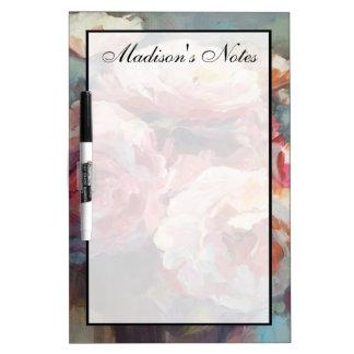 Tableau Effaçable À Sec Ajoutez vos roses nommés de rose sauvage de |