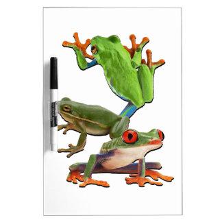 Tableau Effaçable À Sec Arbre Frogger