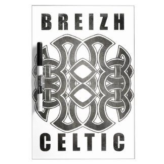 Tableau Effaçable À Sec Breizh celtique bretagne