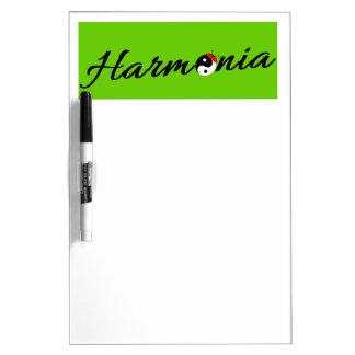 Tableau Effaçable À Sec Coccinelle Harmonia zen