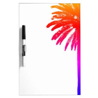 Tableau Effaçable À Sec Conseil sec d'effacement de palmier tropical avec