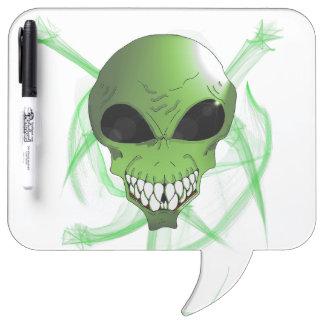 Tableau Effaçable À Sec Conseil sec d'effacement de stylo étranger vert