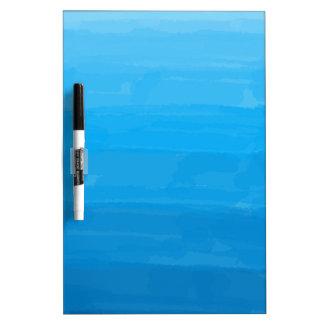Tableau Effaçable À Sec Conseil sec d'effacement d'Ombre de bleu d'océan