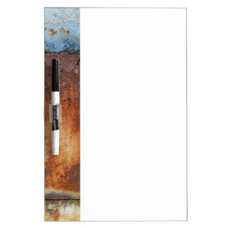Tableau Effaçable À Sec Couleurs de Rust_756, Rouille-Art
