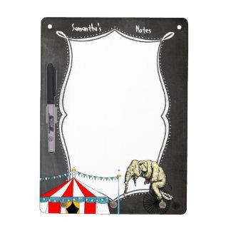 Tableau Effaçable À Sec Évènements mémorables de cirque dans la mémoire