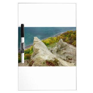 Tableau Effaçable À Sec Falaises de craie sur l'île Ruegen