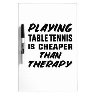 Tableau Effaçable À Sec Jouer au ping-pong est meilleur marché que la