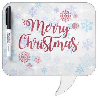 Tableau Effaçable À Sec Joyeux Noël 2