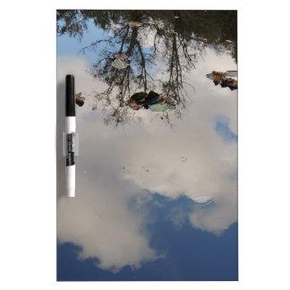 Tableau Effaçable À Sec Le ciel dans l'eau