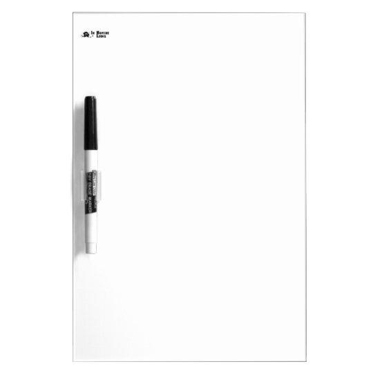 Tableau Effaçable À Sec Moyen av. crayon Dry Erase Board INL