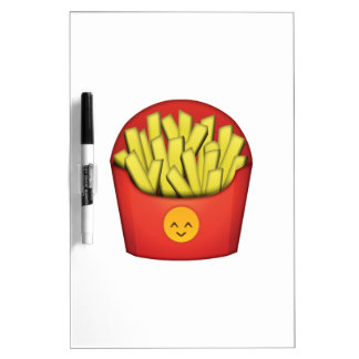 Tableau Effaçable À Sec Pommes frites - Emoji