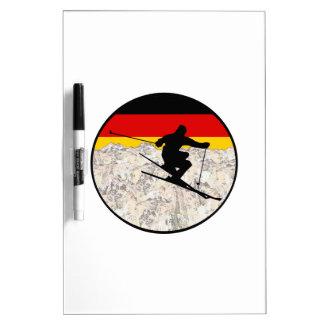 Tableau Effaçable À Sec Ski Allemagne