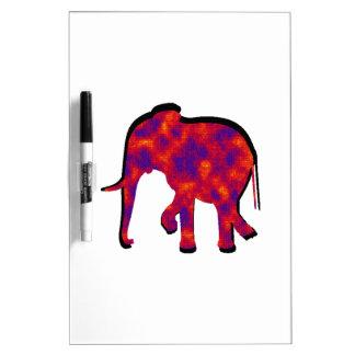 Tableau Effaçable À Sec Stupéfaction d'éléphant