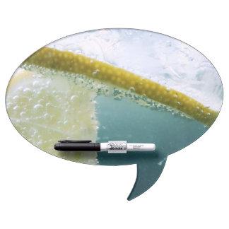 Tableau Effaçable À Sec Tranche de citron