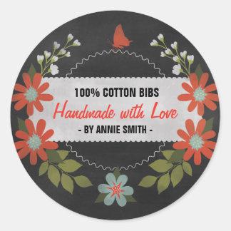 Tableau fait avec amour, étiquettes de cadeau