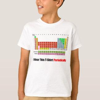 Tableau périodique t-shirt