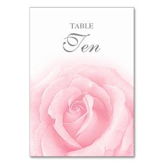 Tableau Romance numéro 10 de mariage de rose de Carte