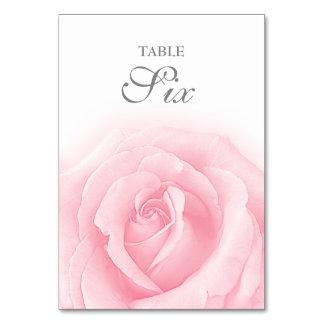 Tableau Romance numéro 6 de mariage de rose de Carte