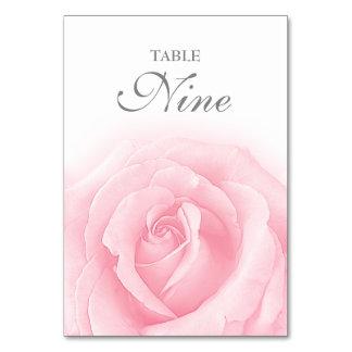 Tableau Romance numéro 9 de mariage de rose de Carte