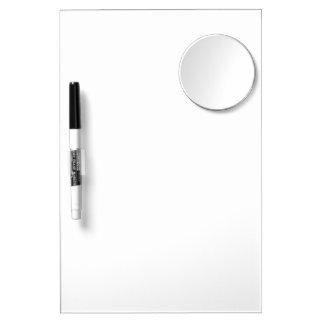 Tableaux effaçables à sec avec miroir