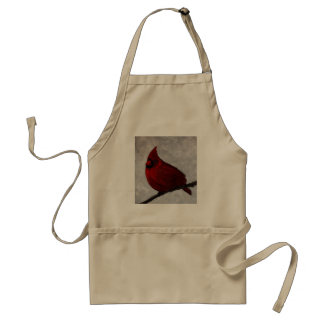 Tablier adulte cardinal