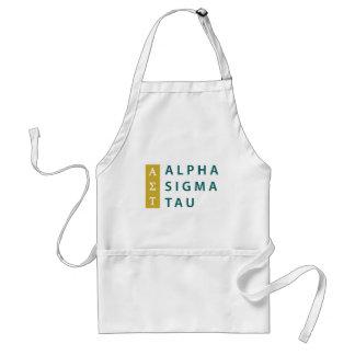 Tablier Alpha Tau de sigma empilé