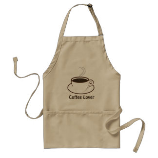 Tablier Amant à la mode de personnel de magasin de café de