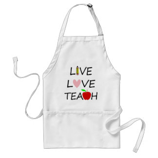 Tablier amour vivant teach2