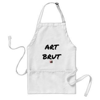 Tablier art_brut__jeux_de_mots_francois_ville