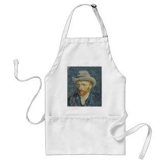 Tablier Autoportrait de Vincent van Gogh avec le chapeau